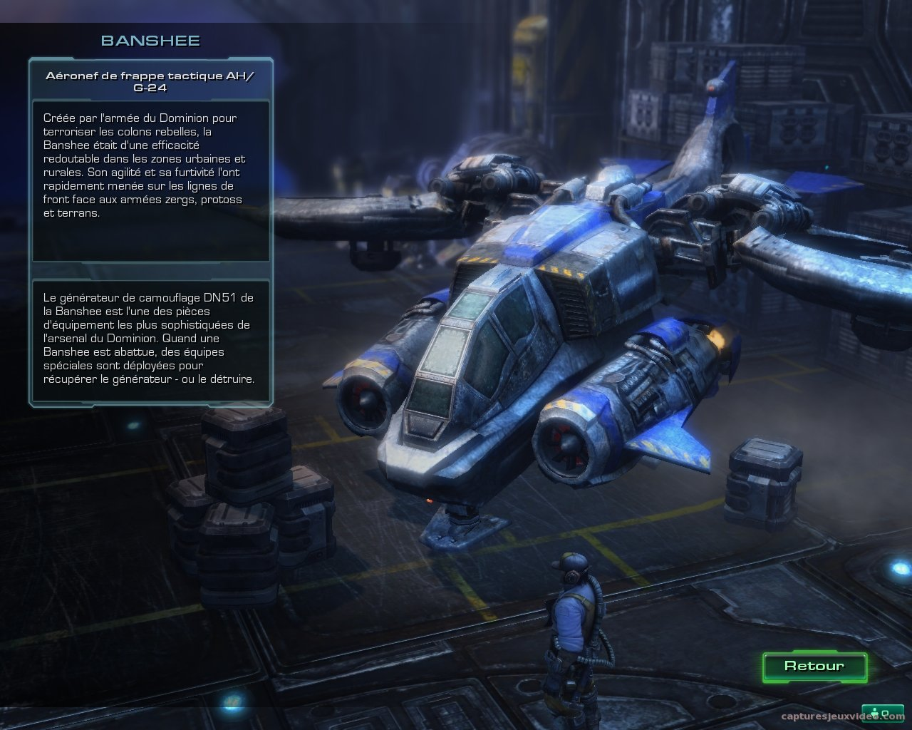 Banshee - Starcraft 2 capture ecran 0150